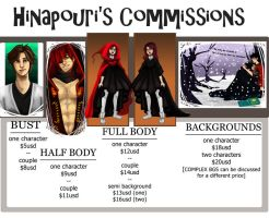 Commissions Shoppe by Hinapouri
