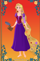 Rapunzel from Tangled by pumba87