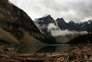 Moraine Lake HDR by KRHPhotography