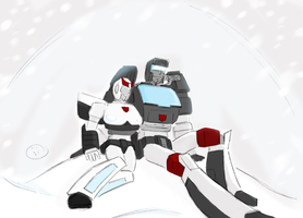 prowl x trailbreaker by iiskaa