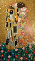 The Kiss 2 by Klimt by Pidimoro