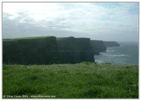 Ireland, the Cliffs of Moher,4 by Lluhnij