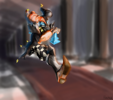 Shaco, the Demon Jester by Skence