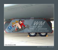 Show Me II Nose Art by yankeedog