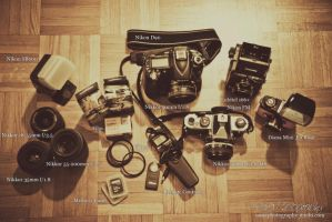 What's In Your Kit? by NanaPHOTOGRAPHY