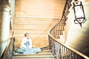 Cinderella Waiting by esophia