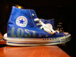 Noah's shoes: Get Lost by MoulinRose