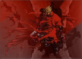 Trigun - Vash The Stampede by Dracofg