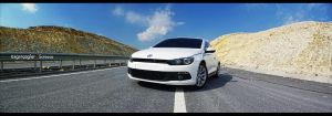 VW Scirocco - 1 by rugzoo