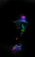 JAY-Z text vector by macky17g