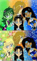 Teen Titans Generation X girls by pictureprincess