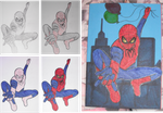 Spiderman Card by whoviifreak