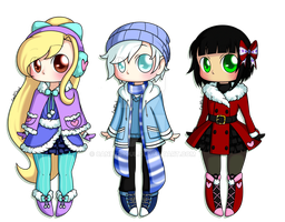 Winter Adopts Set Price [CLOSED!] by CandiGhoul