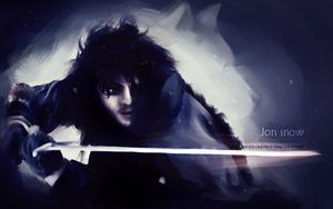 JON SNOW. by sarcasmoke