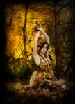 Golden Leaves by Nivelis