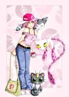 Maliki as a pokemon trainer