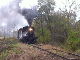 Smokin' up the grade by UnionPacific7004