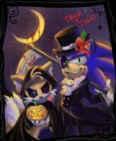 ST: Trick or Treat by chickenoverlord