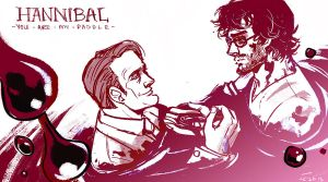 Hannibal: You are my Paddle by applepie1989