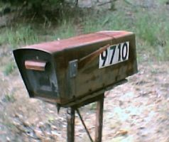 Rusty Mailbox by KnK-stock