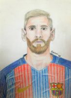 Lionel Messi by sonu9