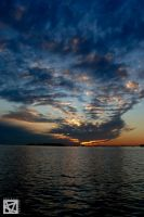 The sky fill my heart by marcellomasiero