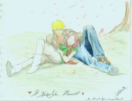 A Narusaku Moment by LoversnPeril7