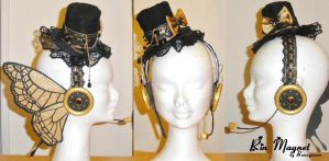 Vocaloid Magnet Butterfly Rin Kagamine Headphone by Bunnymoon-Cosplay