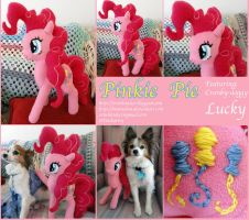 Pinkie Pie Plushie the First by Matsuban