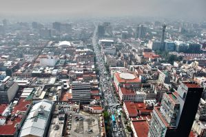 Mexico from the top by jazzypao