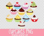 Cupcakes PNG by MyShinyBoy