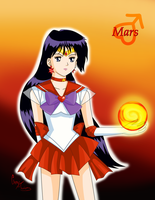 Sailor Mars by RaineLi