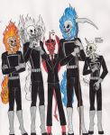 Mephisto and the Four Horses of the Apocalypse by 13foxywolf666