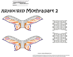 Armoured Mothra part 2 by theSwordofRainbows