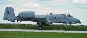 A-10 Warthog Taxiing by GTX-Media