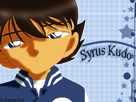 OC Syrus Kudo Wallpaper by Aracelly2010