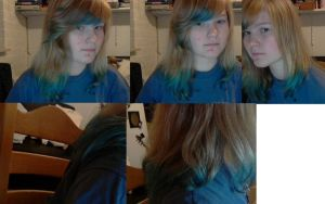 BLUE HAIR TIPS!! by PawesomeSauce
