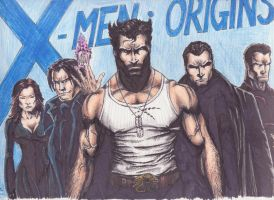 X-Men Origins by Maximilian1993