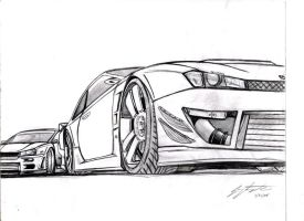 s14 and R34 doodle by wingsofwar