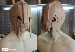 Orc WarLord Helmet WIP 1 SKS Props by SKSProps