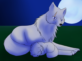 Watching Over [[Art Trade]] by msVuonis