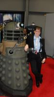 Even Daleks Can't Resist Captain Jack Harkness by astronomylover