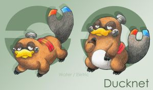 Ducknet- Fusion Contest by gerugeon