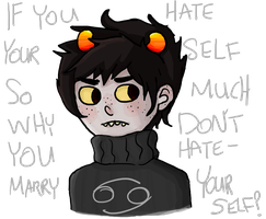 if you hate yourself so much by cupcakenomqueen