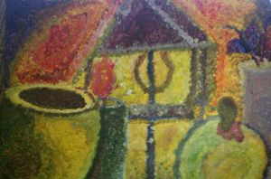 my expressionism or impressionism painting by KikiGreenwell