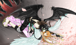 Bleach - Demon and Angel by JeyHaily