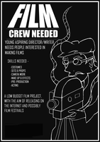 Film Crew needed flyer by countevil
