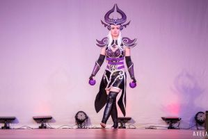 Syndra Cosplay A-kon 26 2015 #4 by Dragongirl9888