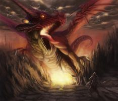 Red Dragon by wolfedge99