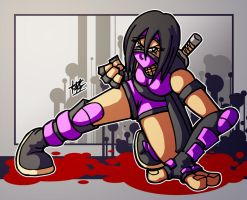:mileena redux: by PoisonRemedy